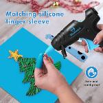Blusmart Hot Glue Gun for Kids