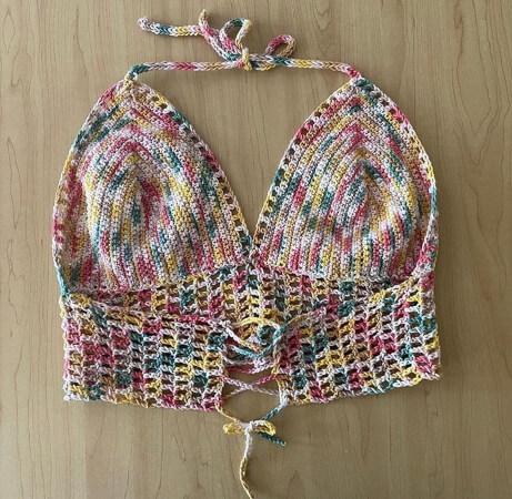Bristol Bralette Crochet Pattern by HookedInAlaska