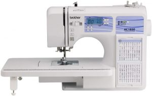 Brother HC1850 Sewing and Quilting Machine with 185 Built-in Stitches