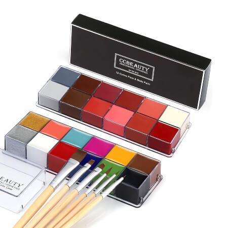 CCbeauty Professional Face Paint Kit