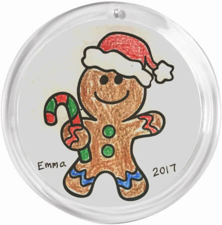 Christmas Craft Ornament for Kids