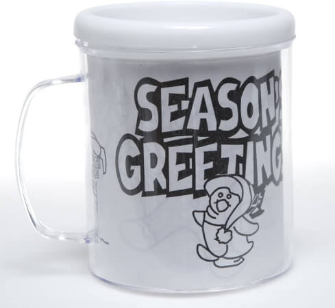 Color Your Own Holiday Artist Mugs for Christmas