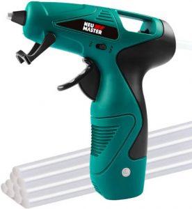 Cordless Hot Glue Gun, Rapid Heating UL Certified Glue Gun Kit with Premium Glue Stick