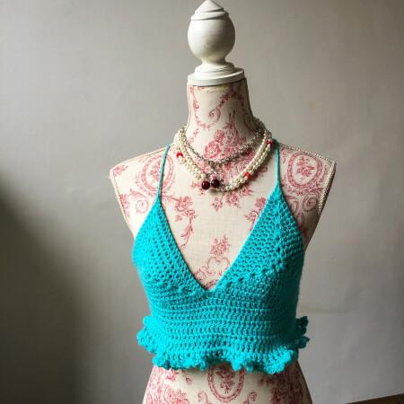 Crochet Bralette Pattern by HookdMob