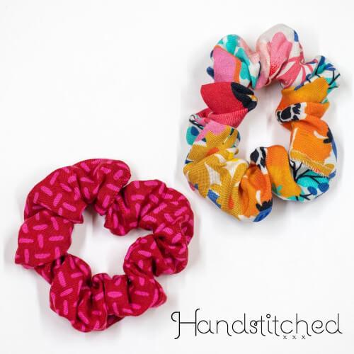DIY Hair Scrunchie Pattern from 1HandstitchedStudio