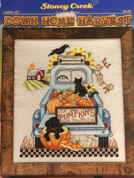 Down Home Harvest Stoney Creek Counted Cross Stitch Pattern