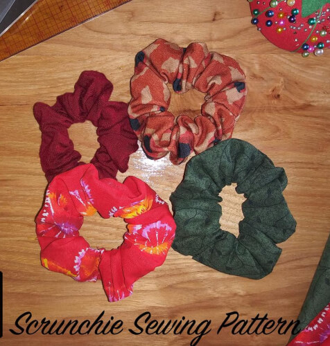 Easy Scrunchie Pattern by Coolbabycoolsewing