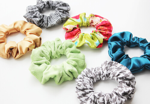 Easy Scrunchie Pattern from Amy Bell