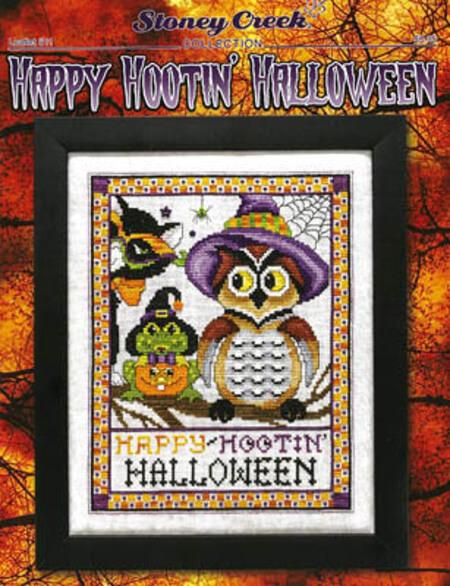 HAPPY HOOTIN HALLOWEEN Stoney Creek Collection Cross Stitch Pattern