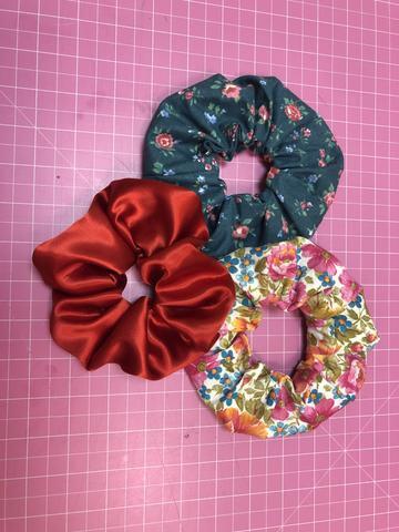 Hair Scrunchie Pattern Free from Pleon Patterns
