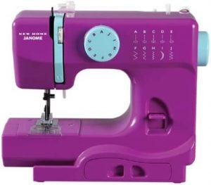 Janome Purple Thunder Basic 10-Stitch Portable, Compact Sewing Machine