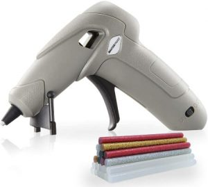 MSD Mini Rechargeable Cordless Hot Melt Glue Gun with 32pcs Glue Sticks
