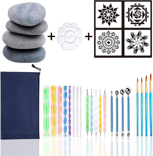 Mandala Stones Dotting Tools Kit