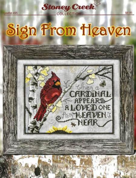 SIGN FROM HEAVEN Stoney Creek Cross Stitch Pattern