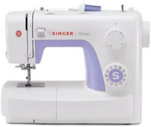 SINGER Simple 3232 Sewing Machine with Built-In Needle Threader & 110 Stitch Applications