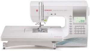 Singer Quantum Stylist 9960 Computerized Portable Sewing Machine with 600-Stitches