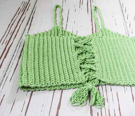 The Sasha Bralette Crochet Pattern fromTaylor Lynn Crochet