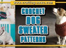 CROCHET DOG SWEATER PATTERNS