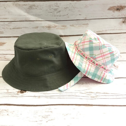 Baby and Kids Bucket Hat Pattern by Tiedyediva