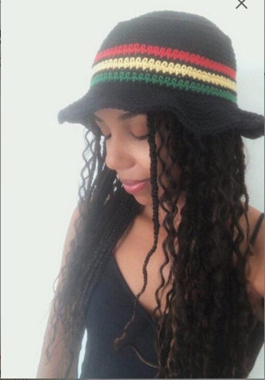Crochet Babylon Bucket Hat Pattern by OffTheHookApparelUK