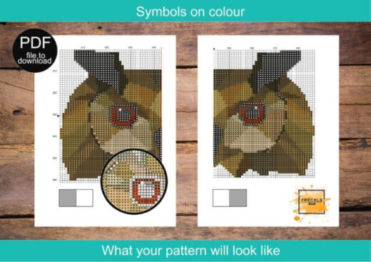 Customized Beatrix Potter Cross Stitch