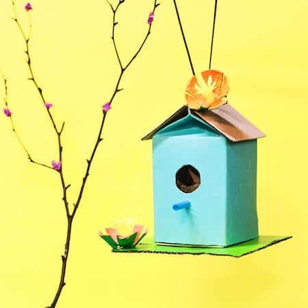 DIY Juice Carton Birdhouse by Barley & Birch
