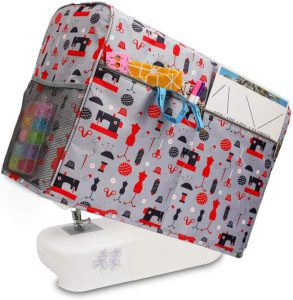 KOKNIT Sewing Machine Cover with Storage Pockets