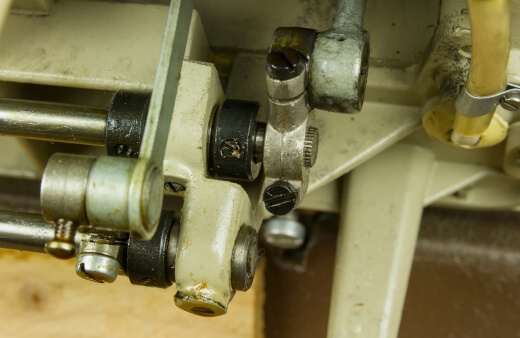 Preventing Debris Buildup in a Sewing Machine