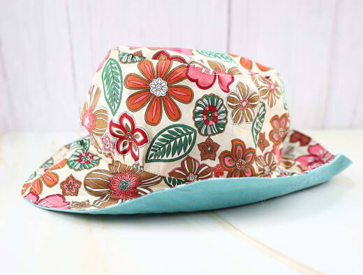 Reversible Bucket Hat Pattern from Hello Sewing