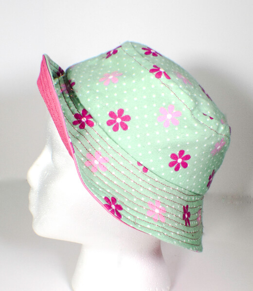 Reversible Bucket Hat by Sew Very Crafty