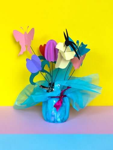 Bouquet Of Paper Flowers by My Poppet Makes