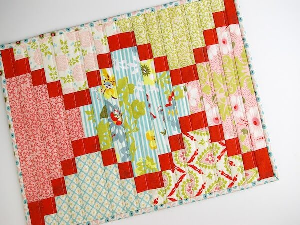 Breakfast In Bed Placemat Quilt Pattern by During Quiet Time