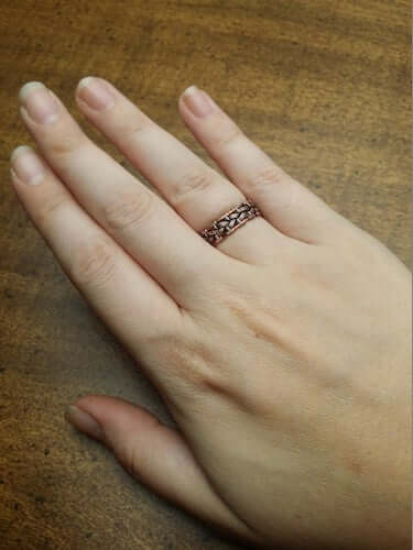Celtic Knot Wire Wrap Ring by Timeless Tempest