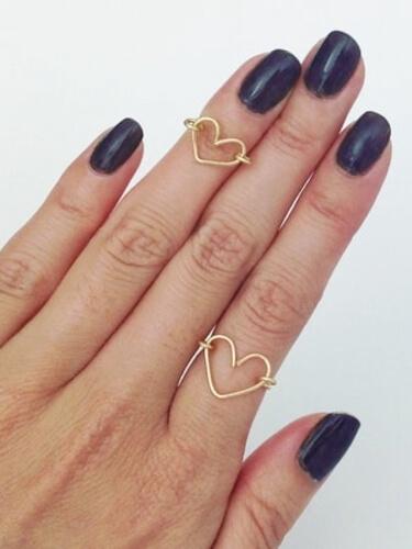 DIY Wire Heart Ring by YesMissy
