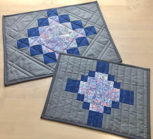 Fill In The Blanks Quilted Placemat Pattern by Epida Studio Designs