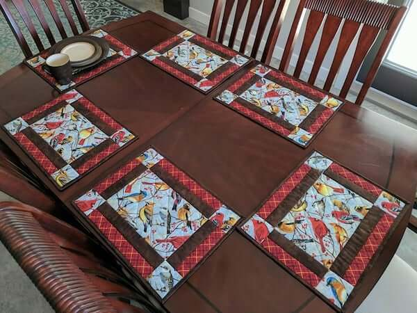 Four O'Clock Quilted Pattern by Designs By Miss Winnie