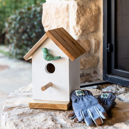 How To Make A DIY Birdhouse by First Day Of Home