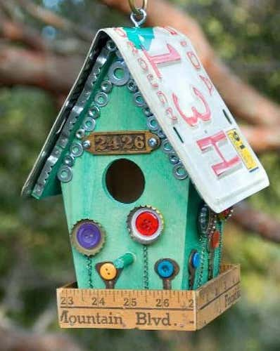 Junk Store Birdhouse by The O'Neil Sisters