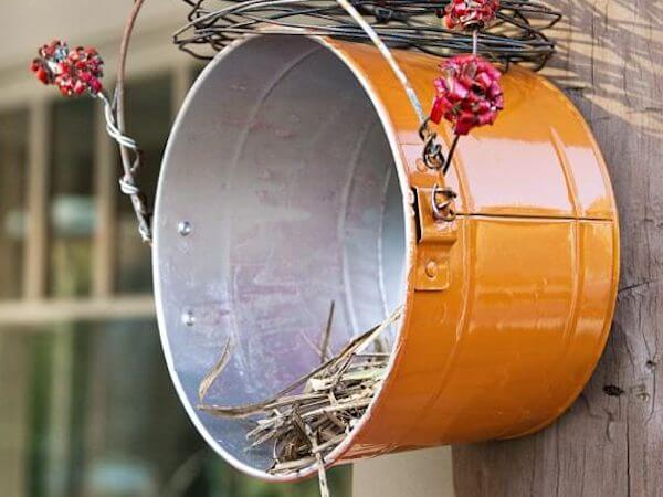 Nesting Shelf DIY Birdhouse by Birds And Blooms