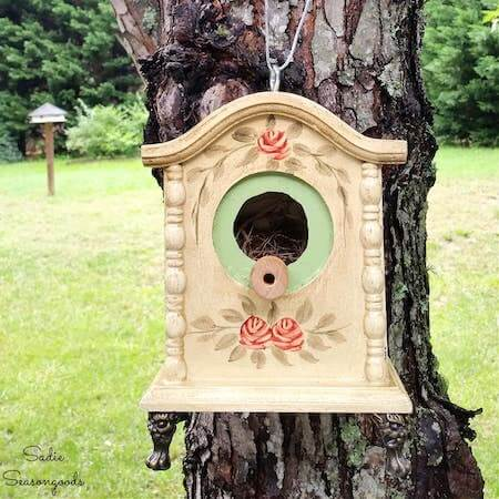 Tick Tock Birdhouse by Sadie Seasongoods