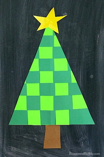 Woven Christmas Tree by Buggy And Buddy