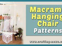 MACRAME HANGING CHAIR PATTERNS