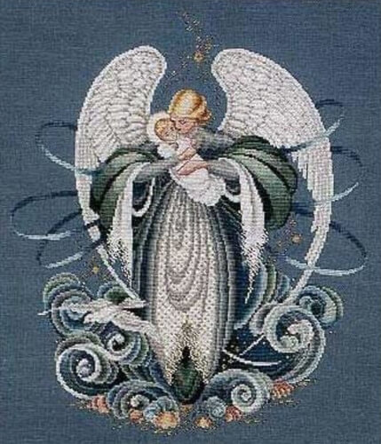 Angel of the Sea Lavender and Lace pattern from NikkisGlenNeedlework