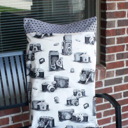 Bed Pillowcase Pattern by FabricGreeetings