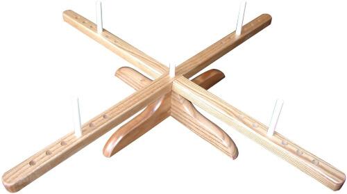CHIAOGOO 1098 Amish Design Wooden Yarn Swift