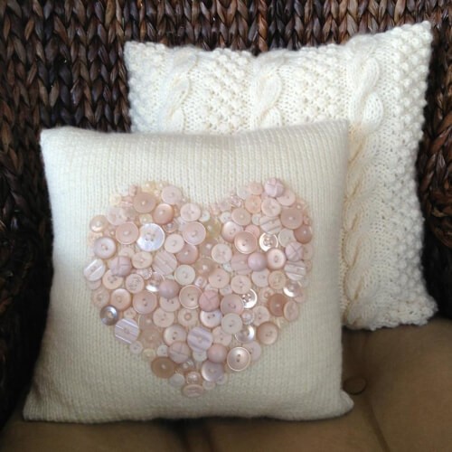 Cable Knit Pillow Cover Pattern by LadyshipDesigns
