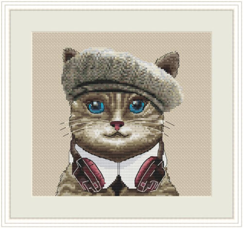 Cat In the Hat Cross Stitch Pattern by IncredibleStitching