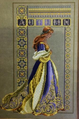 Celtic Autumn Lavender and Lace Cross Stitch pattern by Marilyn Leavitt-Imblum