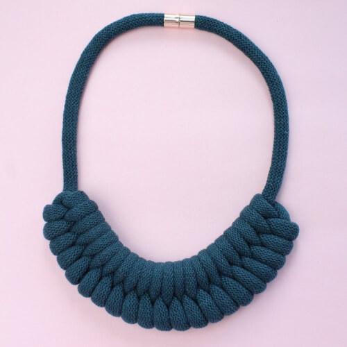 Chunky Necklace DIY Jewellery Kit by Stitchingmesoftly