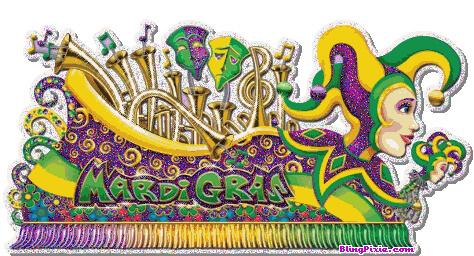 Colourful Carnival Float Mardi Gras Clip Art